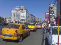 Statia de taxiuri de la Unirii