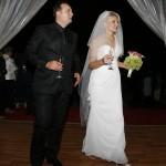 Cristi si Andreea in seara nuntii