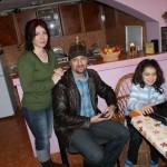 Impreuna cu Dana Fodor si Valentina