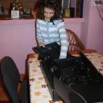 Valentina si descoperirea laptopului