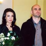 Elena Musat si Serban Nita, sotia si sotul
