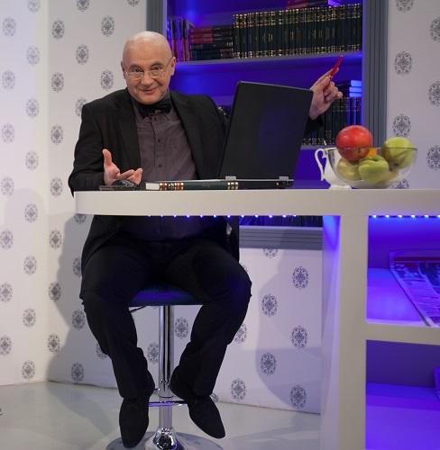 Mircea N. Stoian, în ultima postură în TV, cea de realizator de revista presei la Money Channel