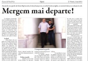 gazeta de nord