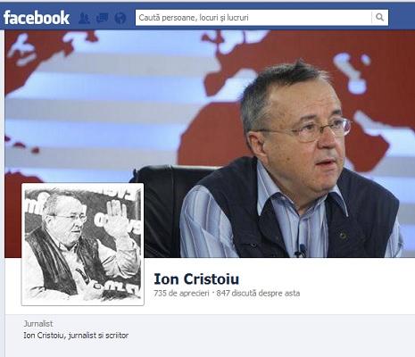 Cristoiu facebook