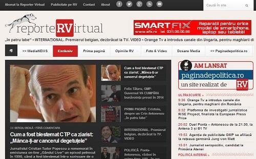 Noul Reporter Virtual, din 17 decembrie 2013