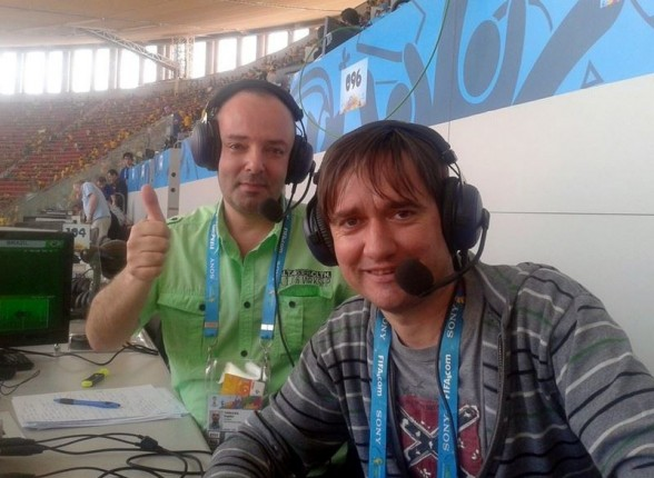 Bogdan Tomulica si Florin Mihoc
