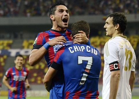6.FOTBAL:STEAUA BUCURESTI-FC AKTOBE,LIGA CAMPIONILOR (6.08.2014)