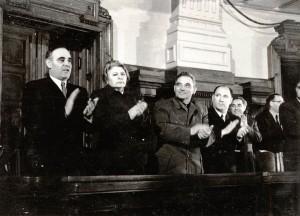 Gheorghiu-DejPaukerLucaGeorgescuRoman1951