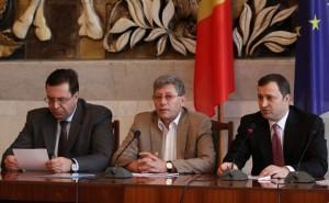 Marian Lupu, Mihai Ghimpu, Vlad Filat