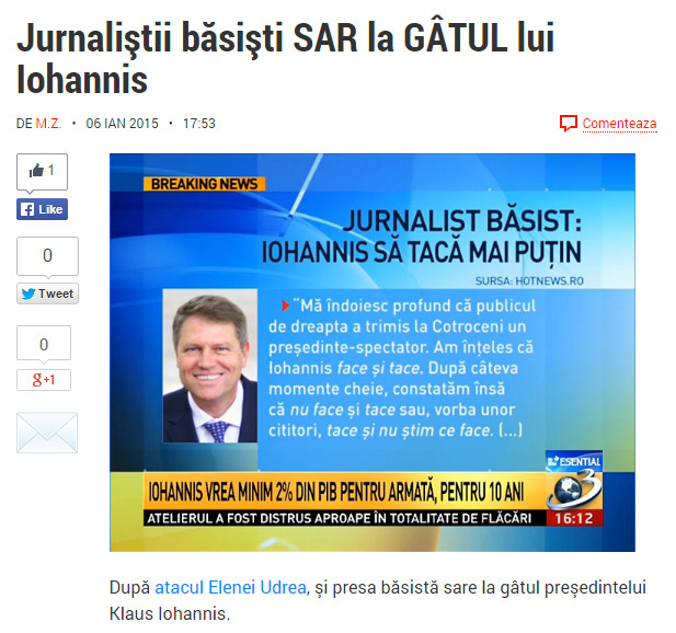 Iohannis Antena 3