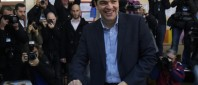 Greek elections, Athens, Greece - 25 Jan 2015
