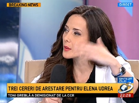 Ana Maria Roman, reporterul Antena 3 acreditat la DNA, într-o emisiune Sinteza Zilei în urmă cu câteva zile