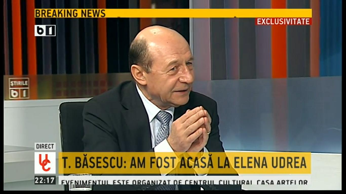 traian basescu_elena udrea_B1 TV