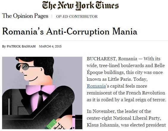 "Articolul din ""New York Times"""