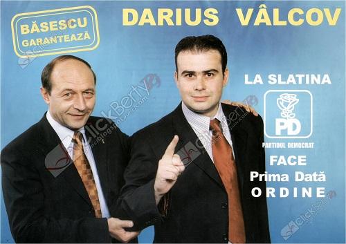 Darius Vâlcov, un ministru cu curul în multe luntrii politice. Aventurile din cimitire datează de pe vremea când Traian Băsescu garanta pentru el! Apoi, l-a luat Ponta de primar bun de la PDL și l-a făcut ministru la PSD...