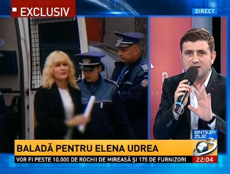 """""""Actorașul"""" care a recitat aseară """"Balada Elenei Udrea"""" în direct la Antena 3"""
