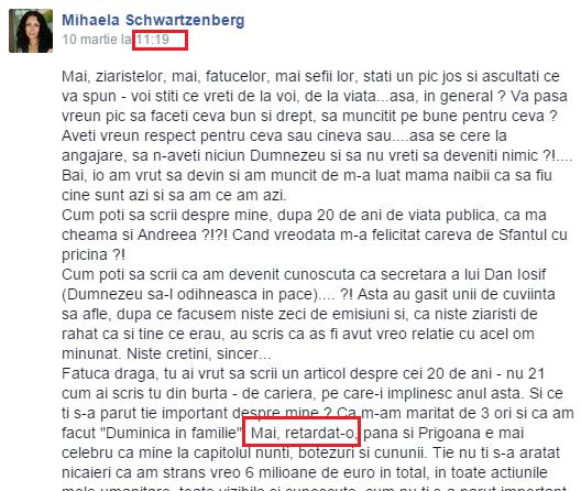 mihaela radulescu varianta needitata