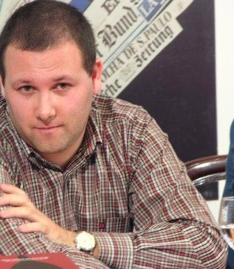 Luis Miguel Rocha, autorul bestseller-ului Ultimul Papa