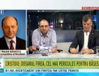 SCANDAL în direct Băsescu – Oreste. Fostul președinte a sunat la B1 să se certe cu invitații
