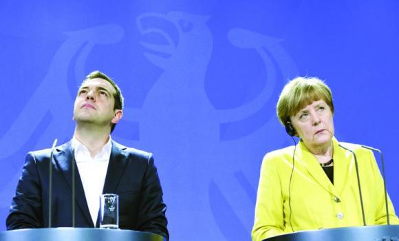 Tot Alexis Tsipras și Angela Merkel...
