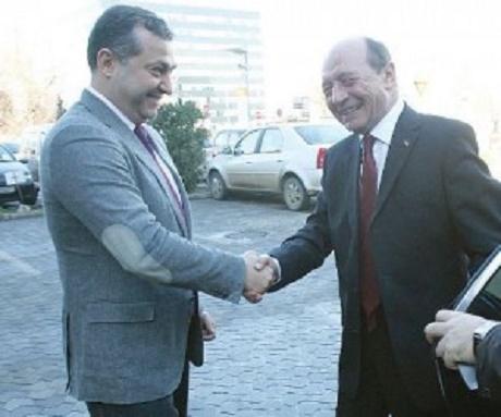 Dan Andronic, cu Traian Băsescu, la o întâlnire mai veche