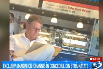 """klaus iohannis antena 3 palma de mallorca"""