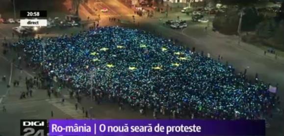 """""""steag ue piata victoriei"""""""