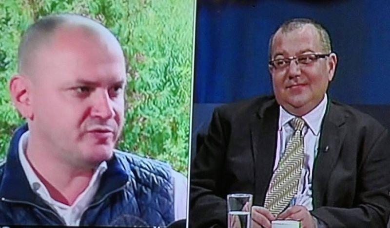 Andrei Bădin, acuzat că a primti bani de la baronul PSD Duicu, e o prezență constantă în emisiunile B1 TV